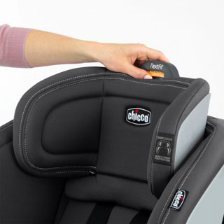 9-Position Headrest