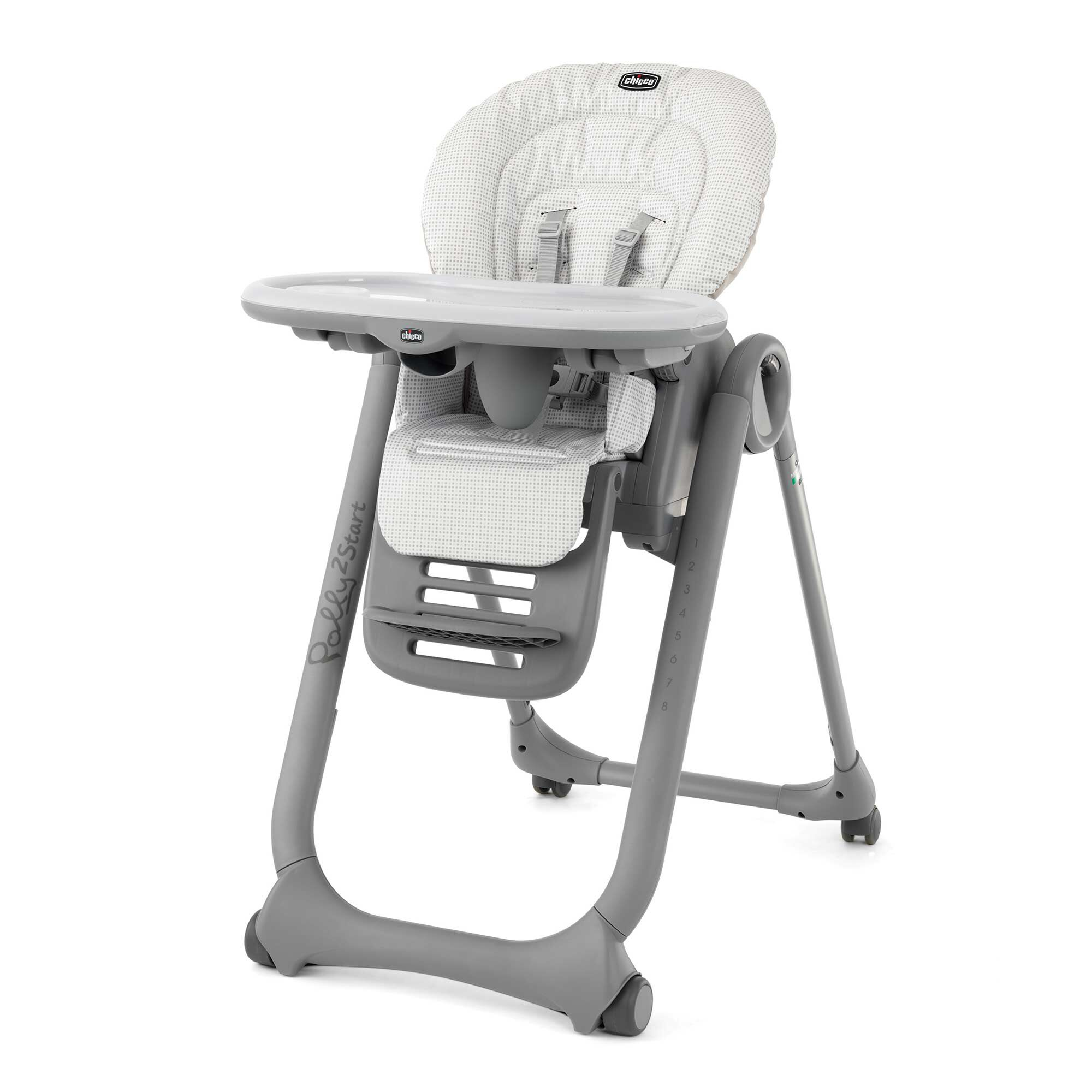 Chicco Polly2Start Highchair in Pebble