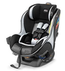 Chicco NextFit Max Zip Air Convertible Car Seat in Vero