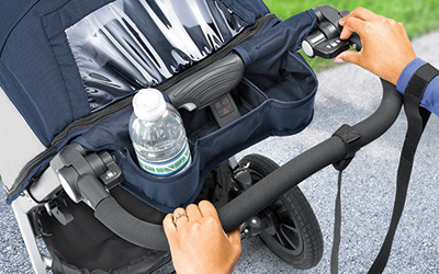 Park Brake for jogger strollers