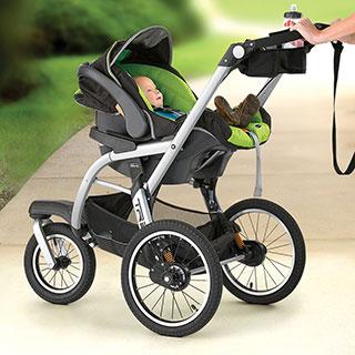 Tre Jogging Stroller Titan Chicco