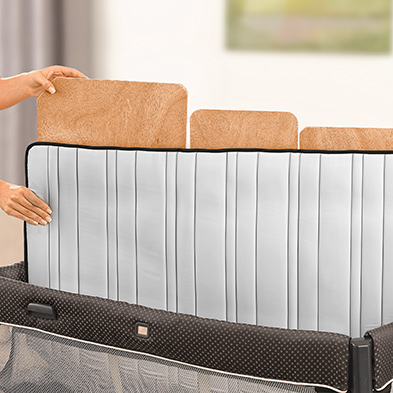 Mattress with Removable Floor Boards