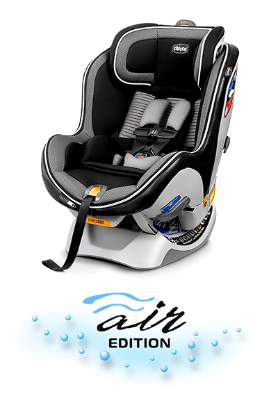 The new NextFit iX convertible car seat is the easiest convertible car seat to install and wash