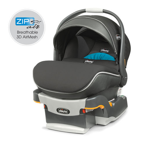 Chicco KeyFit 30 Zip Air Infant Car Seat & Base - Ventata