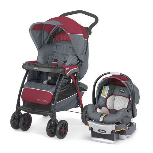 Chicco Cortina CX Travel System - Lava