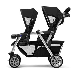 Two Stroller Seats