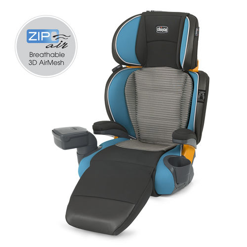 KidFit Zip Air 2-in-1 Belt-Positioning Booster Car Seat - Ventata