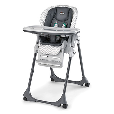 Chicco Polly Double Pad Highchair - Empire