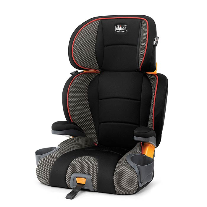 Chicco KidFit Booster Car Seat in Atmosphere
