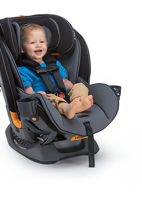 Chicco Fit4 Stage 2 is Rear-Facing for Toddlers who are 12-40 lbs.