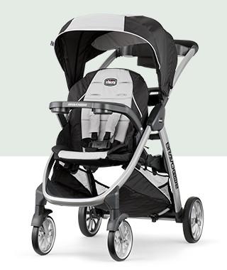 BravoFor2® Double Stroller