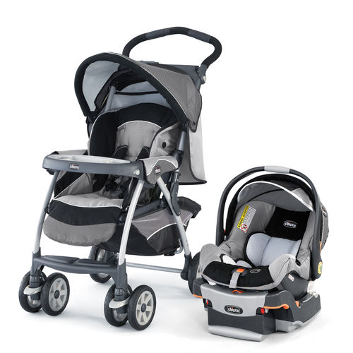 Cortina Travel System - Stroller and KeyFit 30 Infant Car Seat - Graphica
