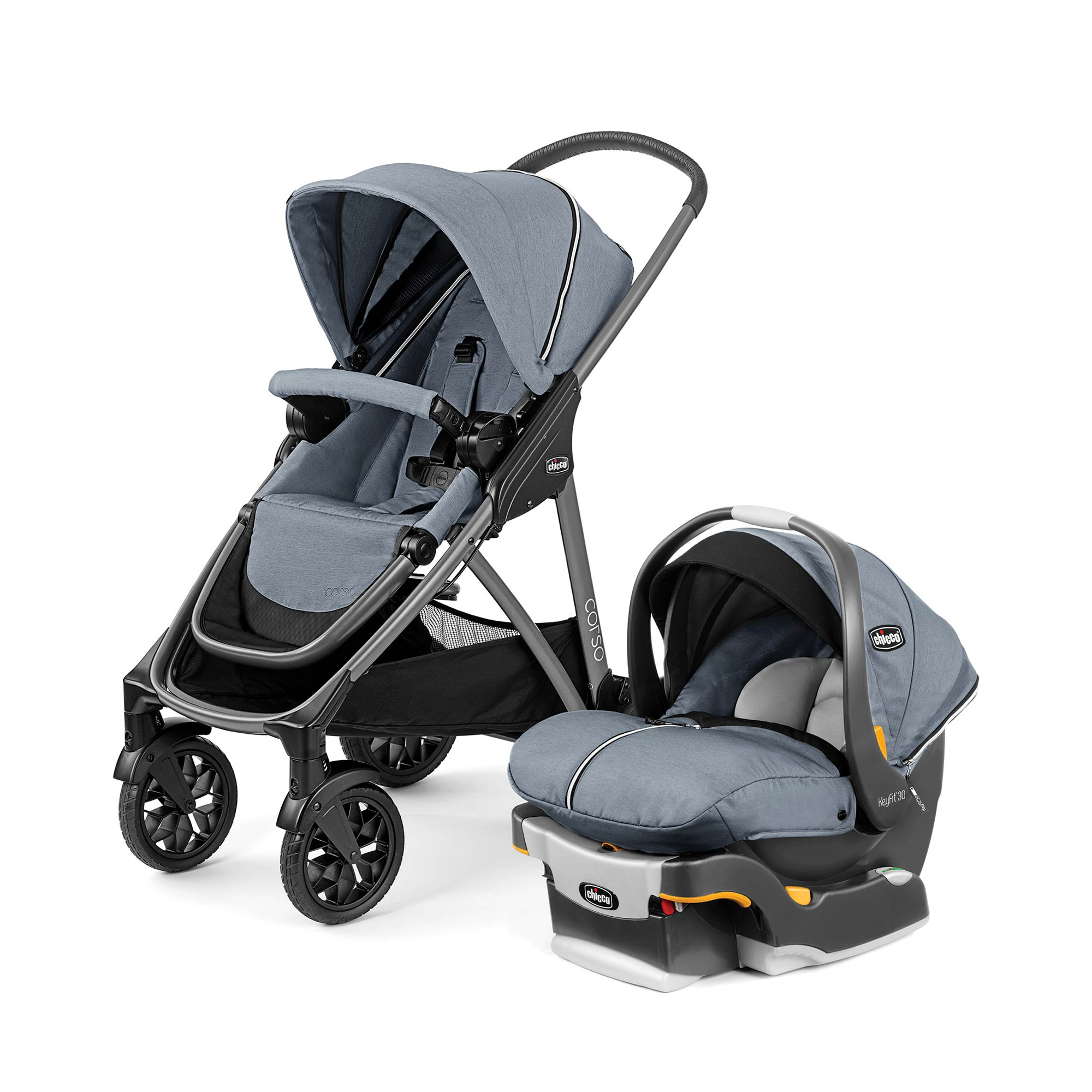Corso Modular Travel System in Silverspring Fashion | Chicco