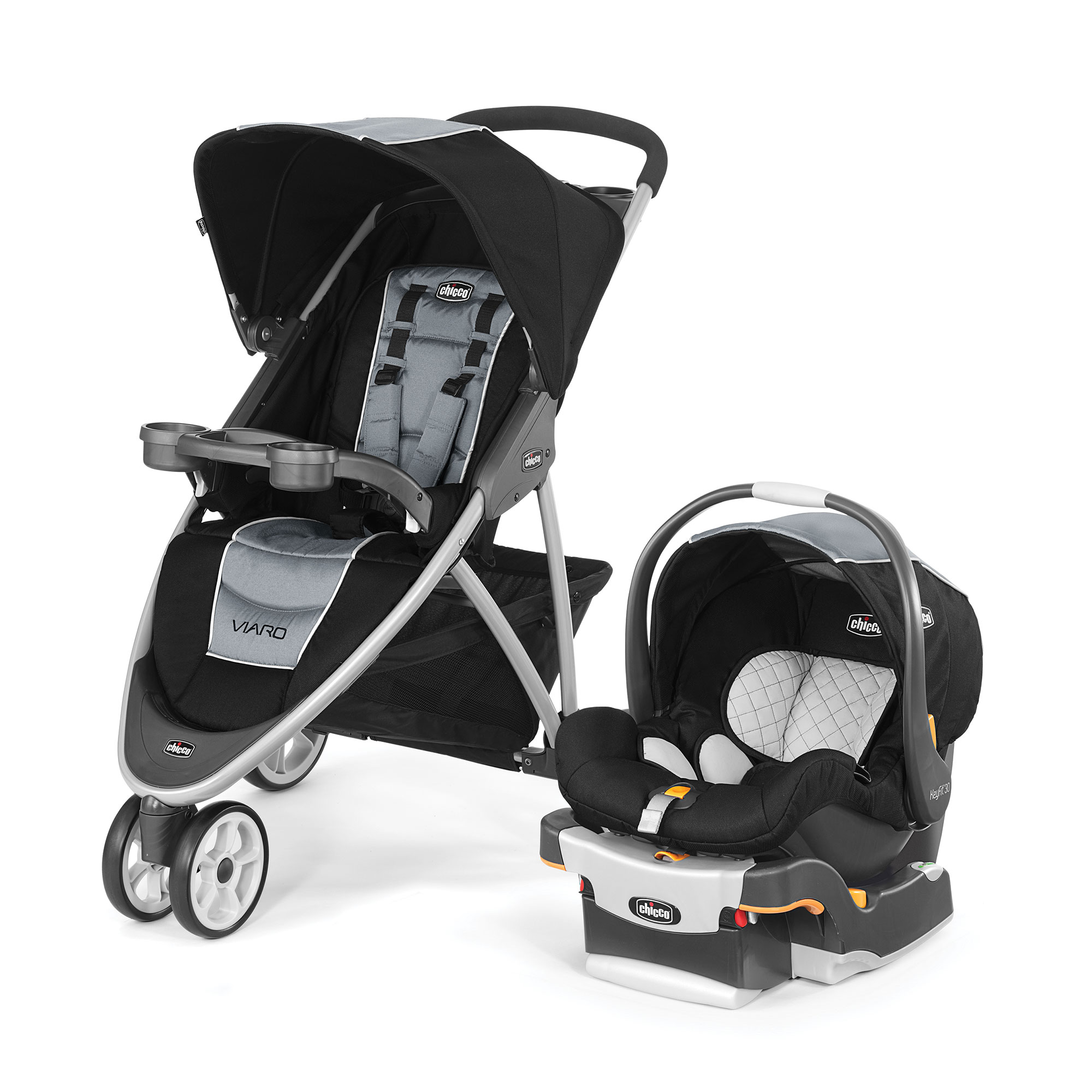 Viaro Quick-Fold Travel System - Techna | Chicco