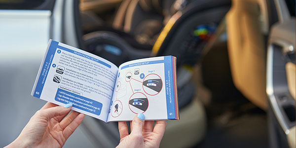 Reading the Chicco Car Seat Manual
