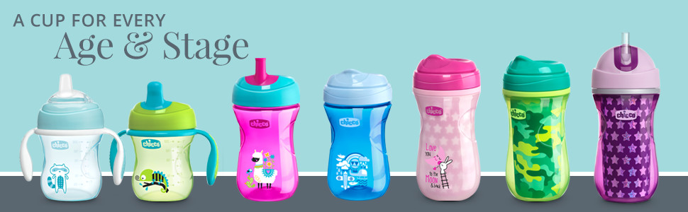 NaturalFit Cups - the perfect cup for every age and stace